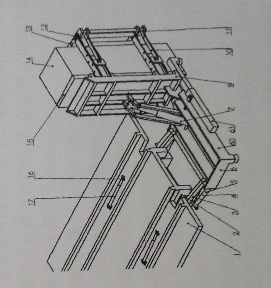 砖跺自卸汽车尾板