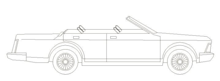 车用充气式敞篷装置