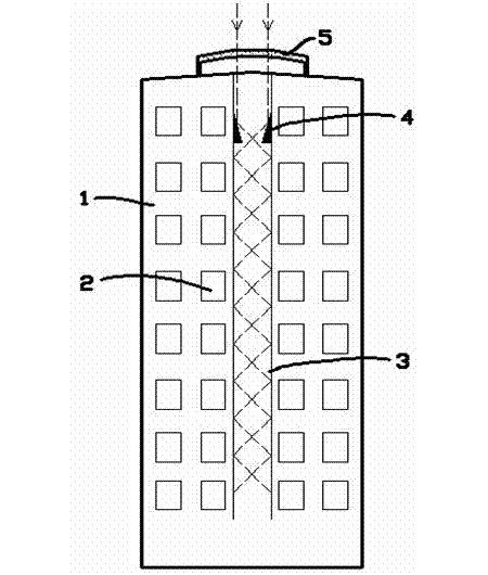 增透型高层采光建筑