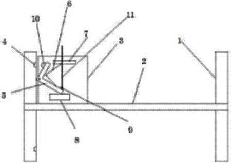 一种通过角形件来实现定位孔式锁定的车轮系统
