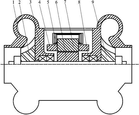 一种涡轮增压发电装置