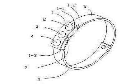 一种新型智能手环...