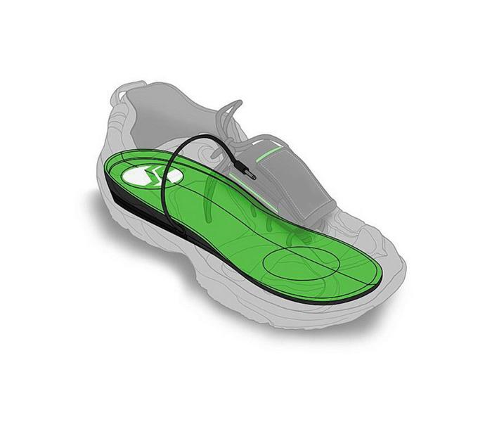 复合发电鞋