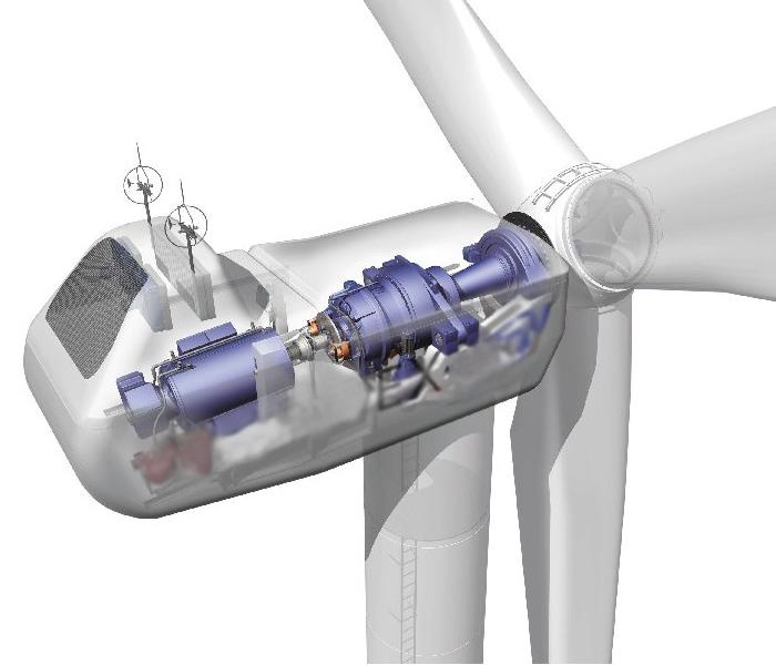 颤动风力发电装置