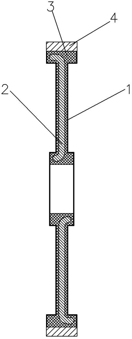 用于真空的无铁芯定子结构
