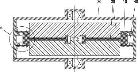 一种飞轮储能系统定子散热结构及飞轮储能系统