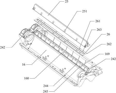 立式空调器风道结构及立式空调器室内机