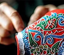 专利-一种壮族马尾绣的刺绣方法