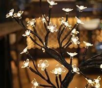 专利-具有冗余容错功能的模拟树灯饰结构