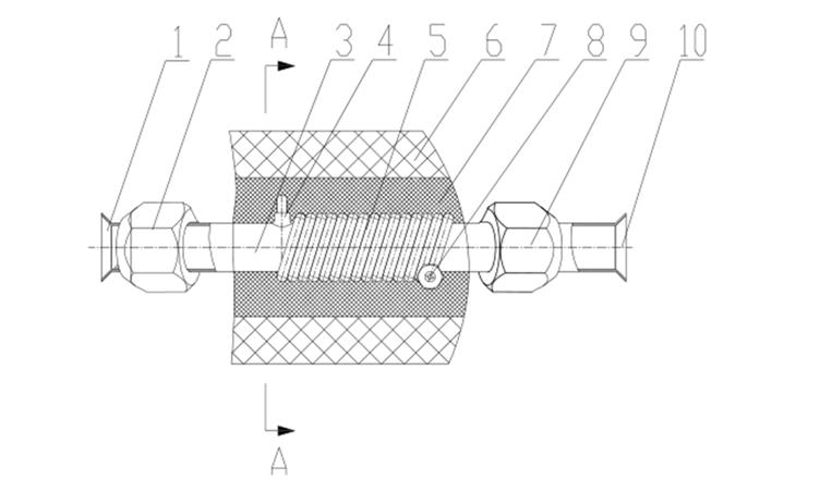 一种新型空调用室内外连接气管