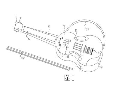 一种多功能智能电子乐器