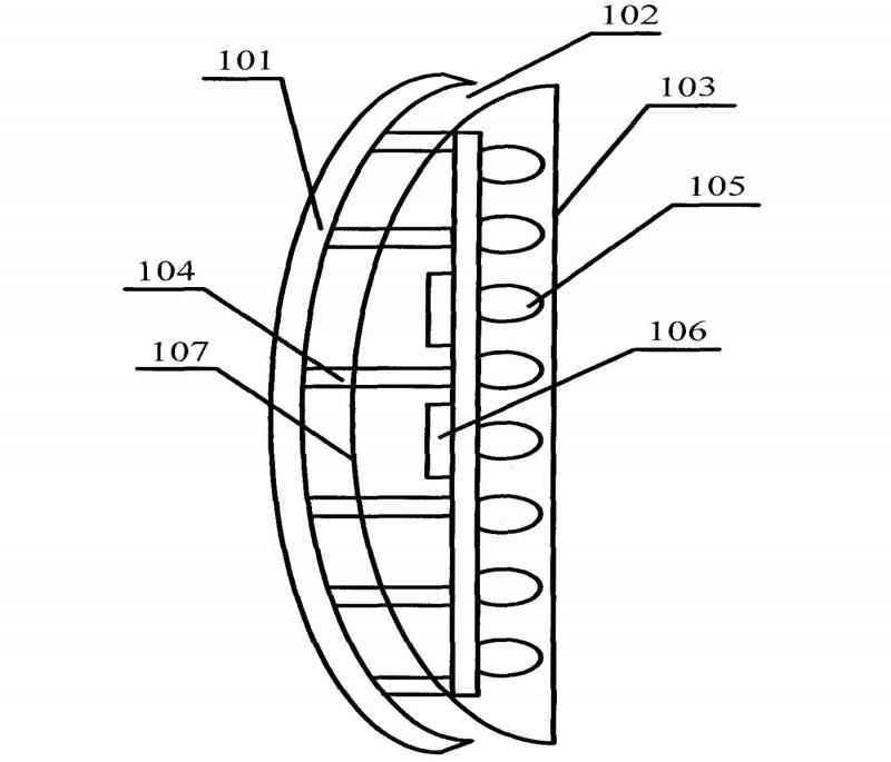 一种LED汽车灯专利