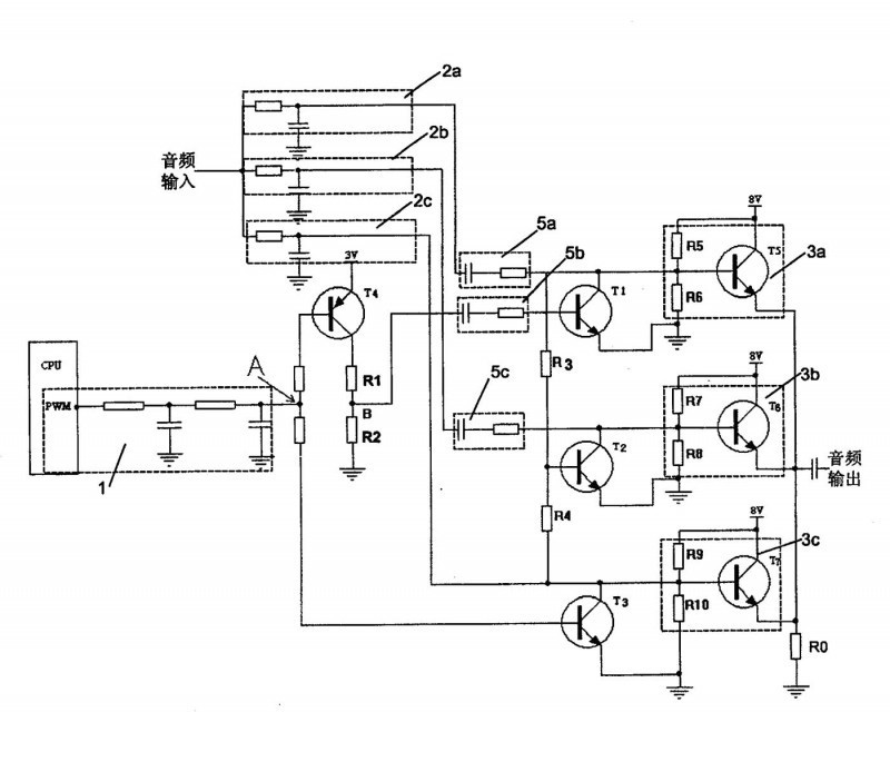 一种低音增强级别选择电路