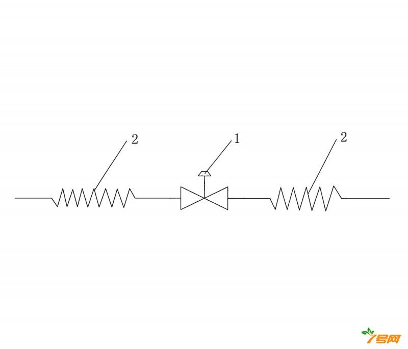 分体式变频空调器室外机的节流装置