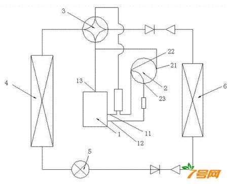 一种使用可变容压缩机的空调器及其控制方法