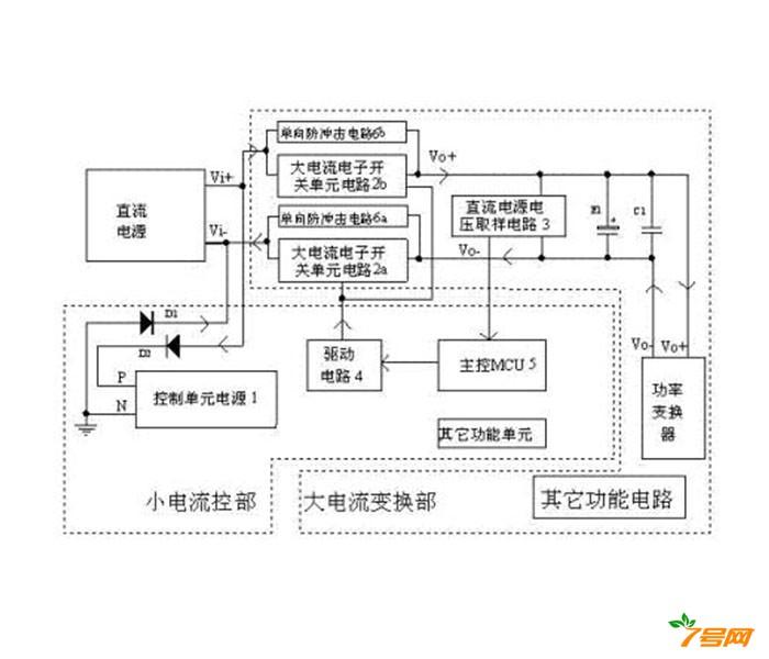 有极性区分的直流电源防反接电路及其控制方法