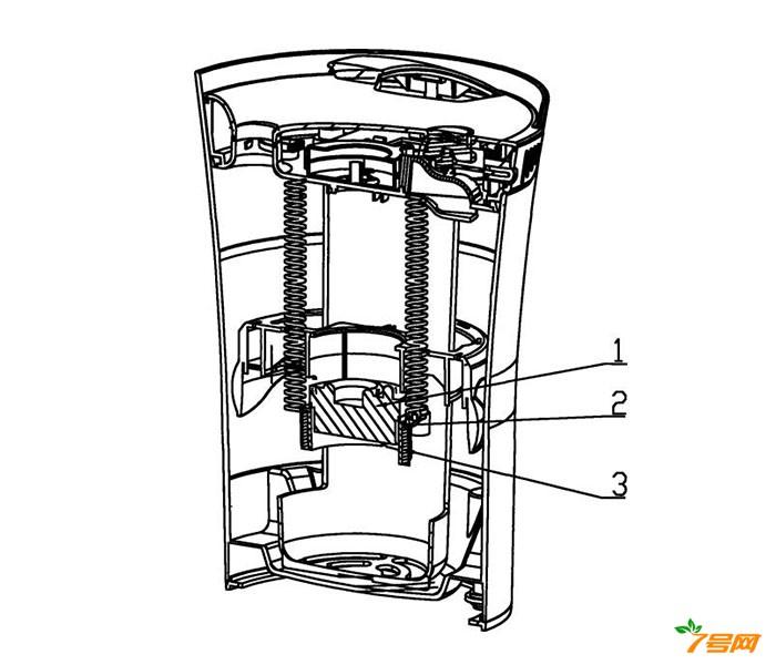 悬浮式超声波空气加湿器的抗菌悬浮组件及其加工方法