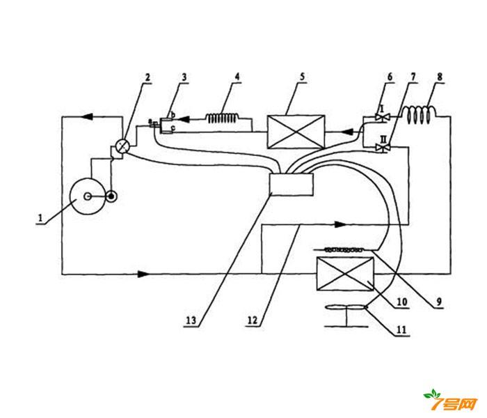 冷暖型空调器及其除霜方法
