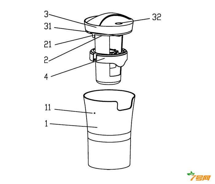 悬浮式超声波空气加湿器的溢流装置