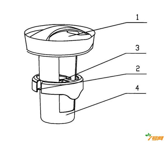 悬浮式超声波空气加湿器的定向导浮装置