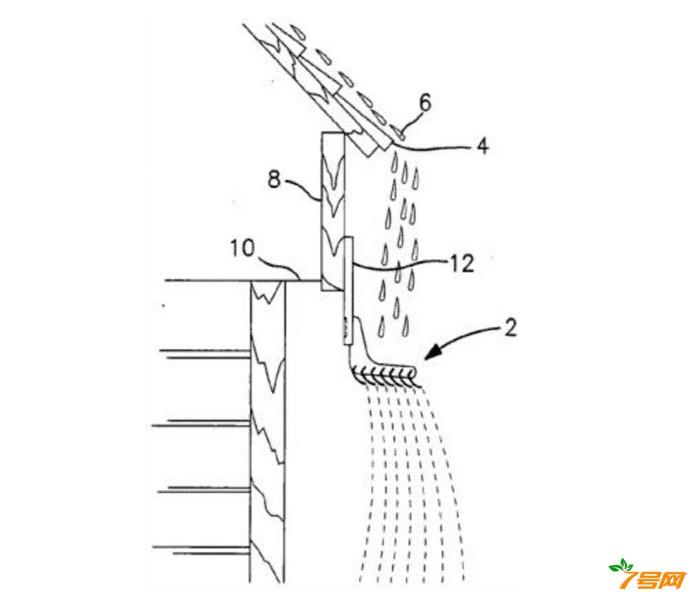 一種易于安裝的可調節屋頂排水系統