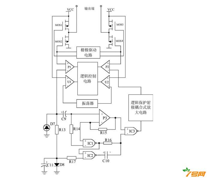 一种节能型蓝光 LED 灯保护系统