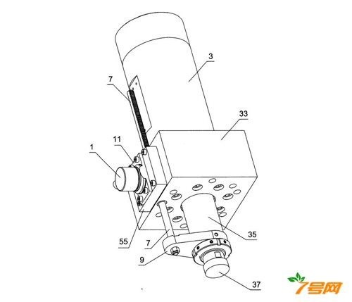 一种液压缸行程测量装置