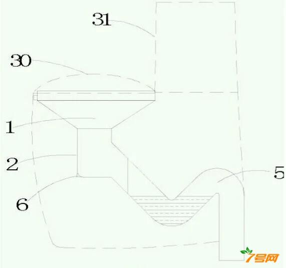 安全衛生節水馬桶