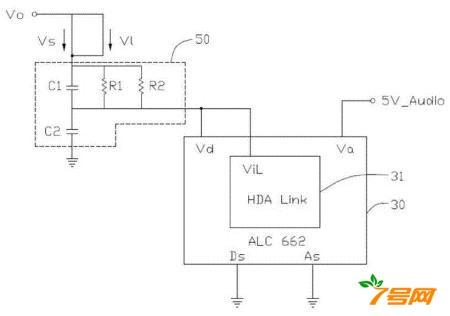 音频编码芯片供电电路